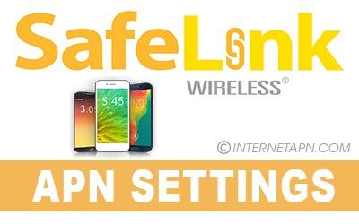 Safelink APN Settings