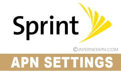 Sprint APN Settings