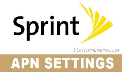 Sprint APN Settings