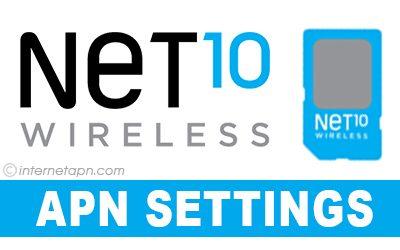 NET10 APN Settings