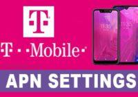 T-Mobile APN Settings